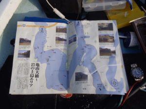 亀山湖高滝湖大明解MAP