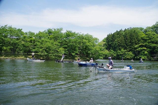 リザーバーレンタルボートバスフィッシング